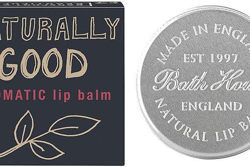 """Barefoot & Beautiful """"Naturally Good"""" Aromatic Lip Balm"""