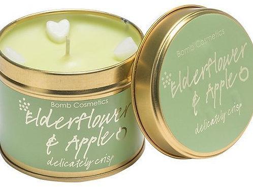 Elderflower & Apple Tinned Candle