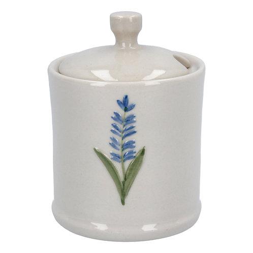 Gisela Graham Ceramic Lavender Honey Pot