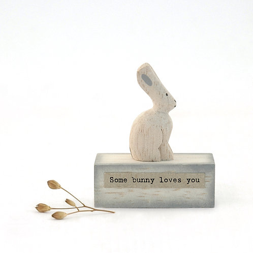Wood scene-Bunny/Some bunny loves you