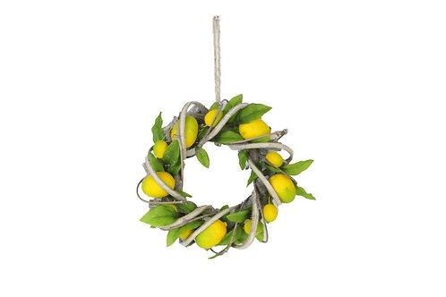 Lemon Twig Wreath Small by Gisela Graham