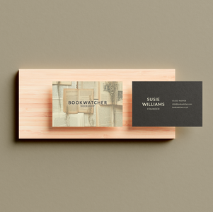 Business Card for Bookshop
