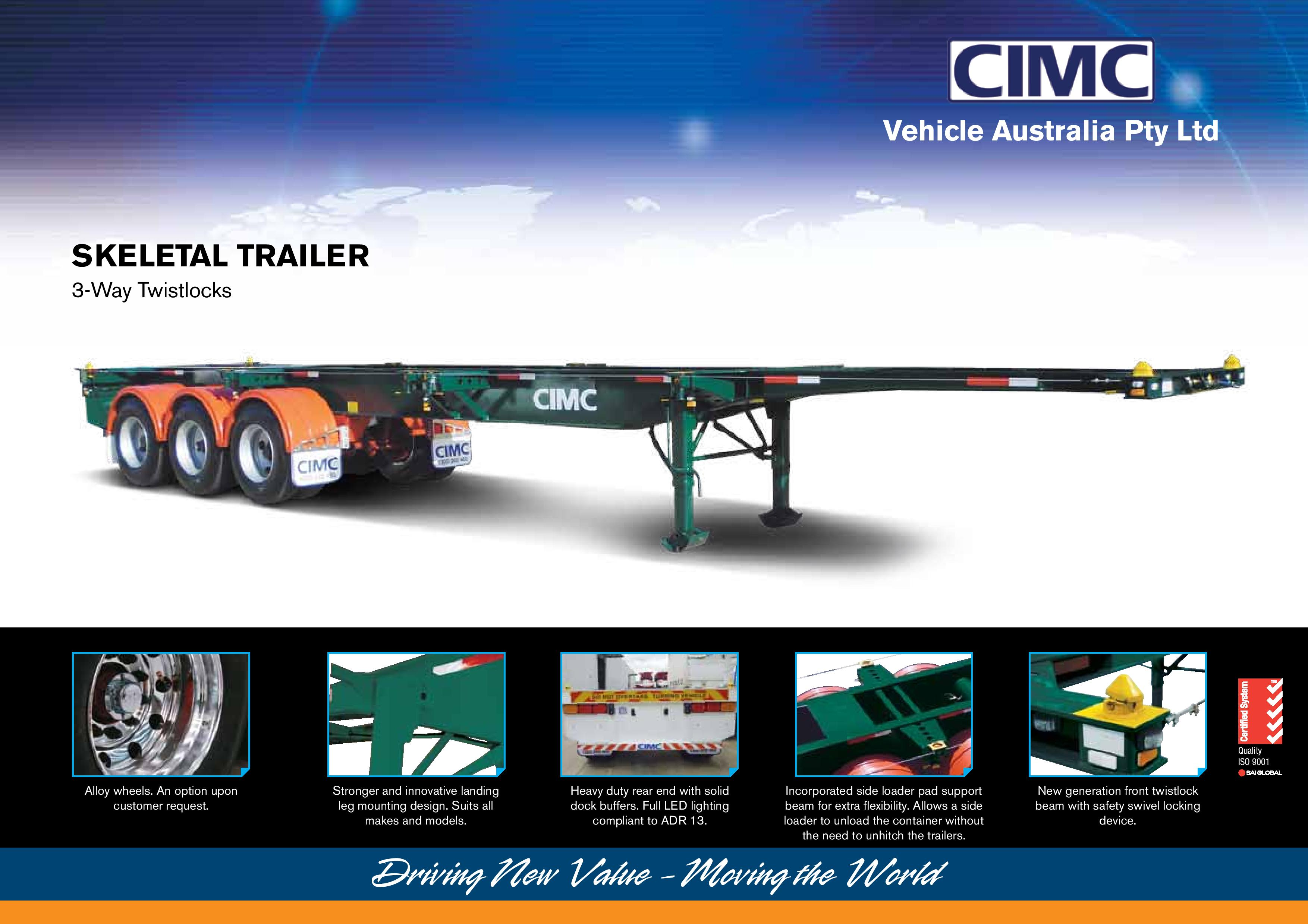 Standard B Trailer | CIMC Trailers | World Leading Semi