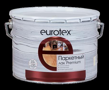 Eurotex Premium Лак паркетный полуматовый (10 л)