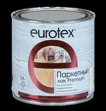 Eurotex Premium Лак паркетный полуматовый (0,8 л)
