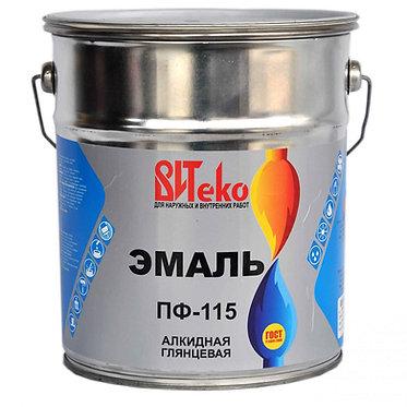 Витеко эмаль ПФ-115 (20 кг) серая