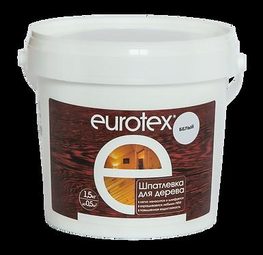 Eurotex шпатлевка для дерева (1,5 кг)