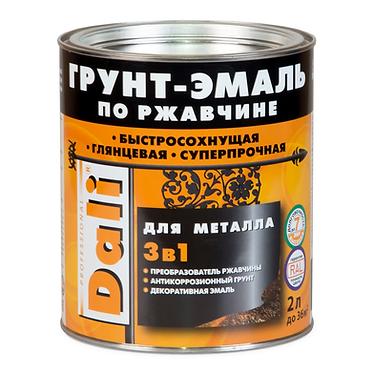 Dali грунт-эмаль по ржавчине 3 в 1 (2 л)
