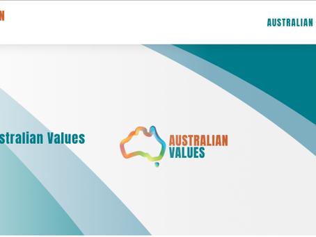 Australian Values Open!
