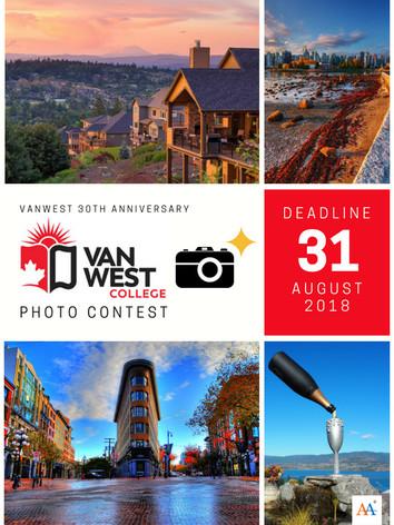 VanWest College Photo Contest