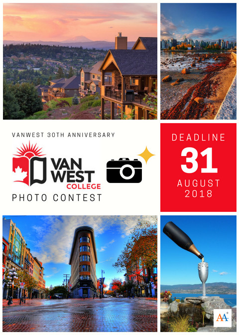 VanWest College Photo Contest