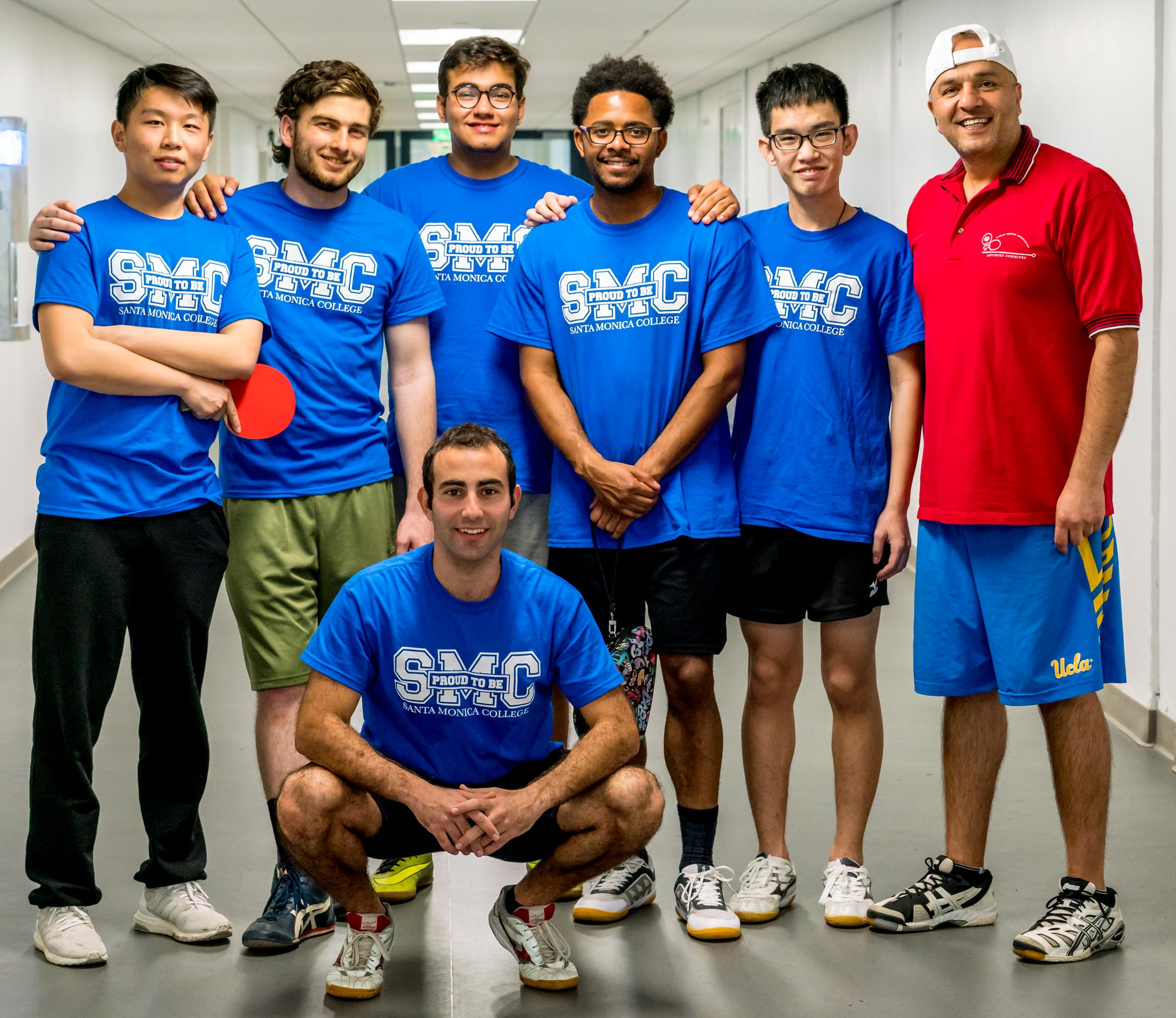 Santa Monica College Table Tennis