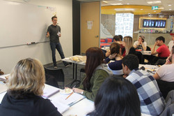 ILAC Toronto classroom