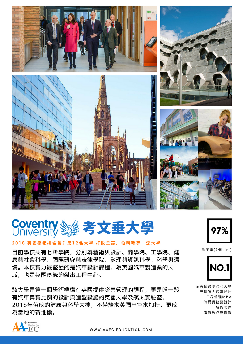 [學校簡介] Coventry University