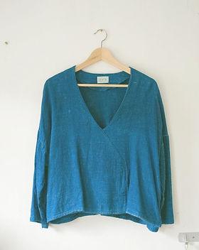 indigo cloth, shibori, natural dye