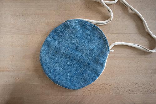 藍染・月亮袋