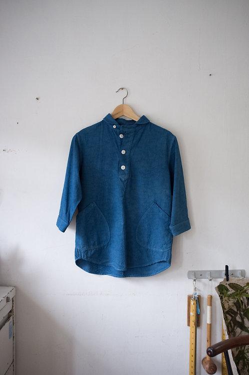 藍染男士襯衫