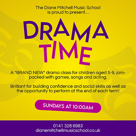 Drama Time Poster (Square).png