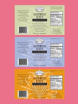 Silverwater Secrets Labels