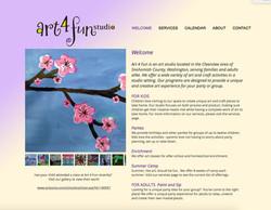 Art 4 Fun Website