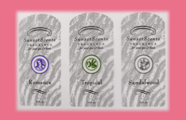 Sunset Scents Labels