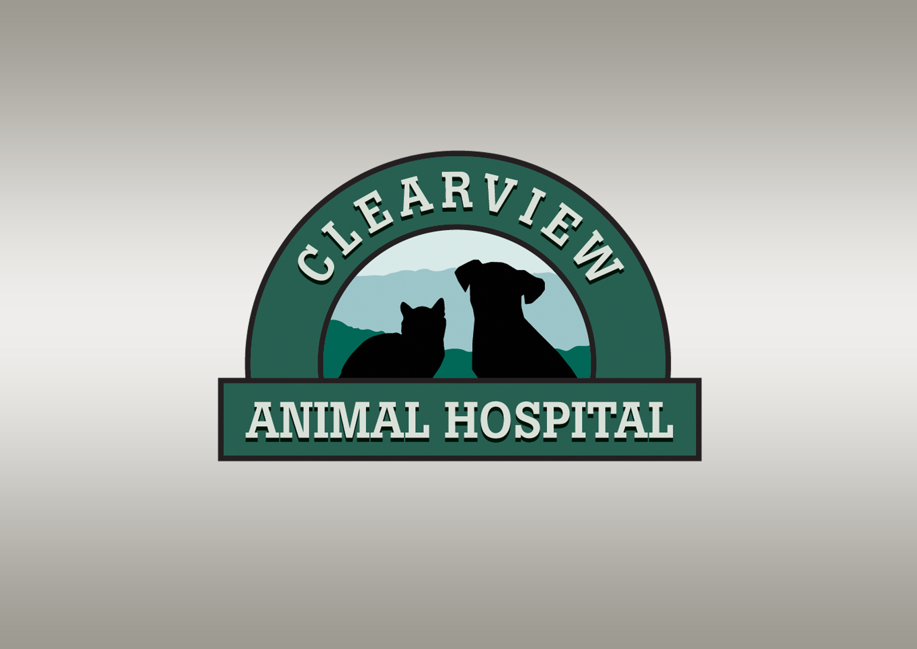 Clearview Animal Hospital Logo