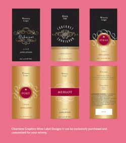 Wine Label Designs