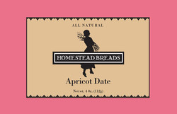 Homestead Breads Logo and Label
