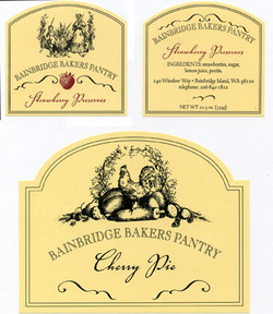 Banbridge Bakers Labels