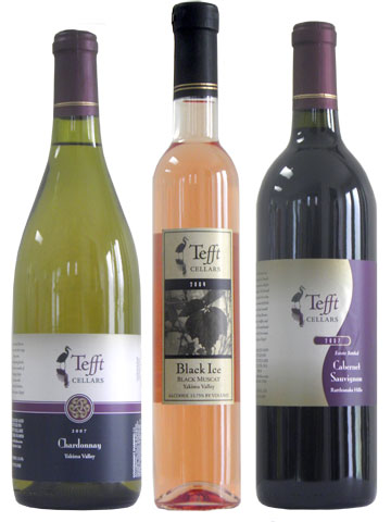 Tefft Cellars Wine Labels