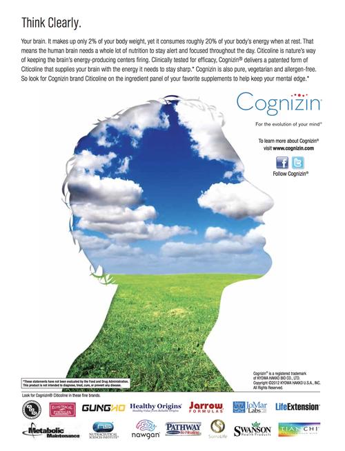 Cognizin Print ad