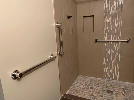 Bathroom Safety with Grab Bars or Rails