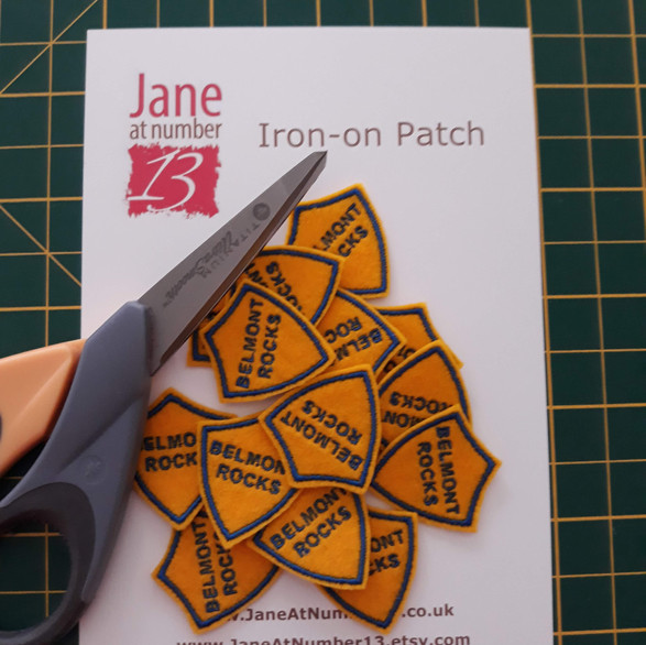 Extra small personalised patches