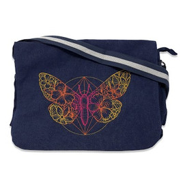 Moth messenger bag