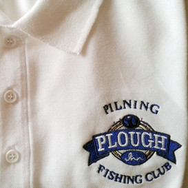 Plough Inn Fishing Club polo shirt