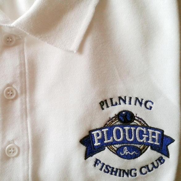 Plough Inn Fishing Club polo shirt