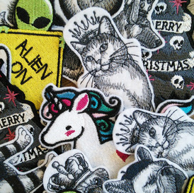 Assrted iron on patches