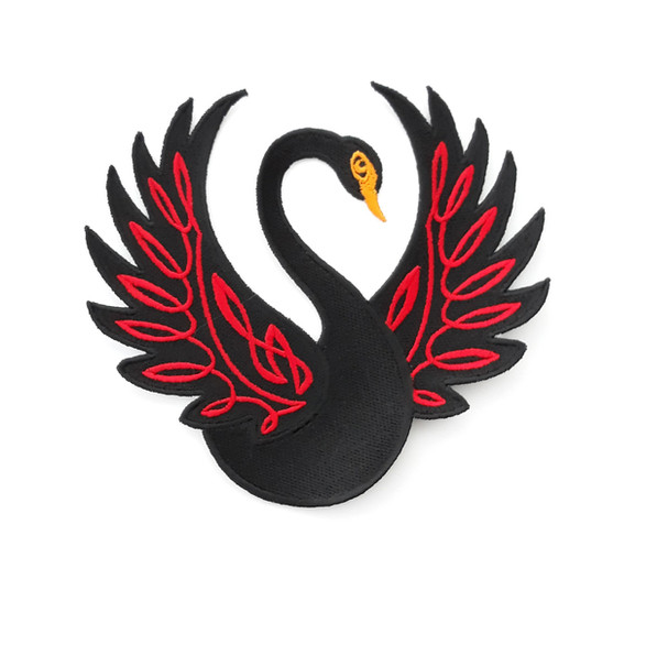 Celtic swan applique