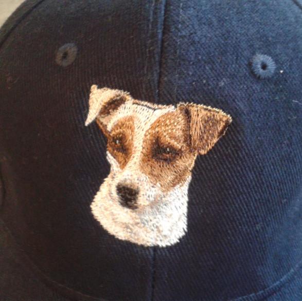 Jack russell baseball cap
