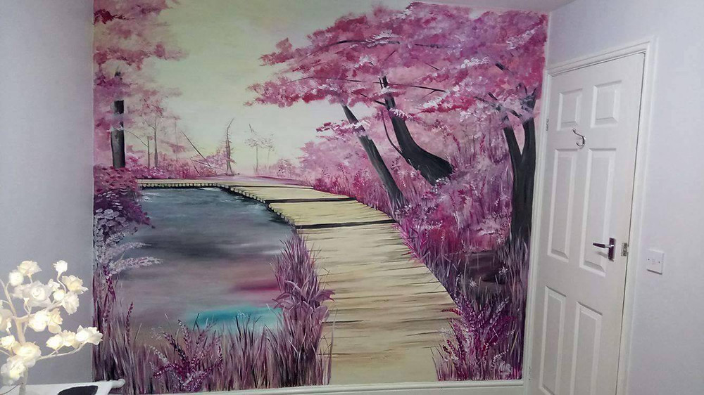 This stunning and tranquil scene is just one of many beautiful works of art created by Kir Art.