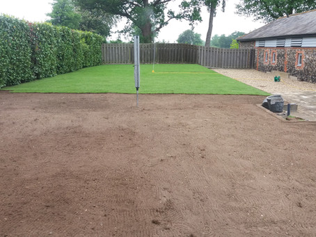 Re Turfing your Lawn