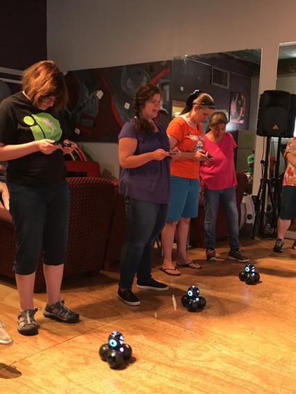 Tech Team- Robot Races