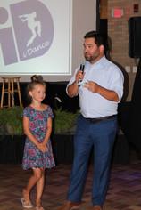 Jordan Strack and daughter