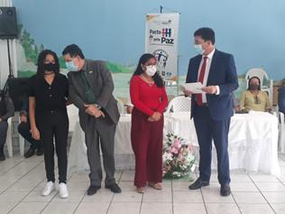 Jeferson Portela empossa Conselho Comunitário pela Paz em Primeira Cruz