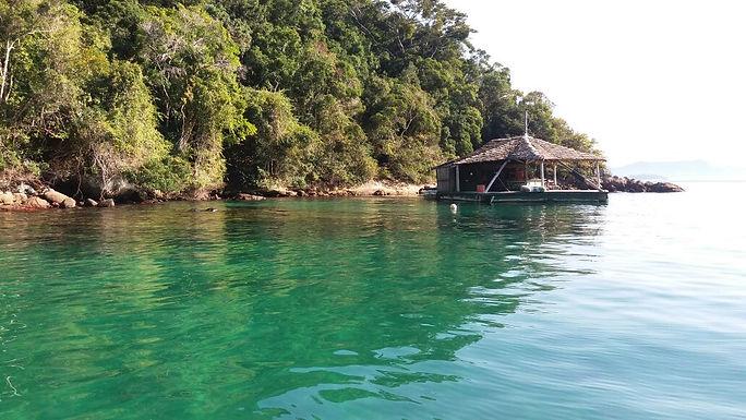 Lagoa verde - Ilha Grande