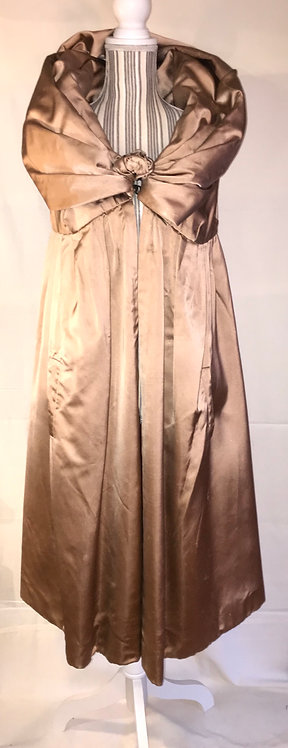 1950s satin evening jacket
