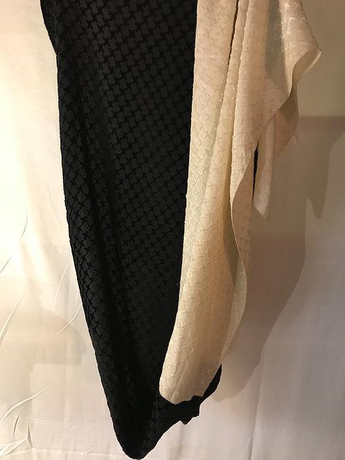 1920s Devoré shawl