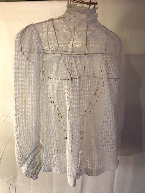 Amazing pull work blouse, circa 1890
