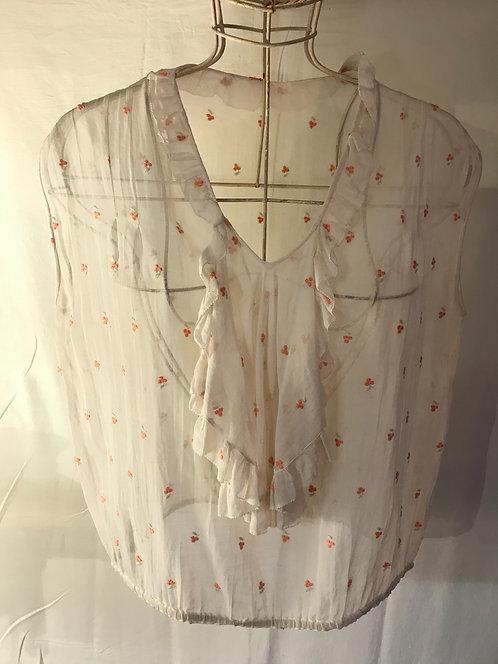 1930s muslin blouse