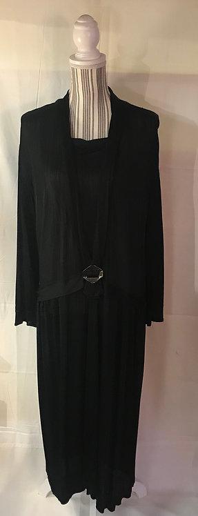 1920s Jersey Dress